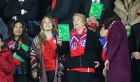 Bachelet en el Estadio