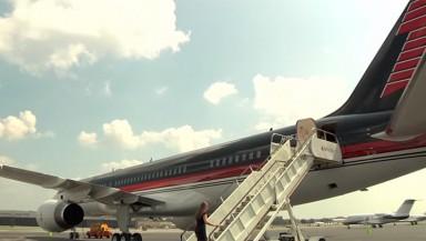 Trump avión